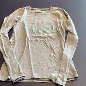 Girl's Abercrombie long sleeve T-shirt, Size 10